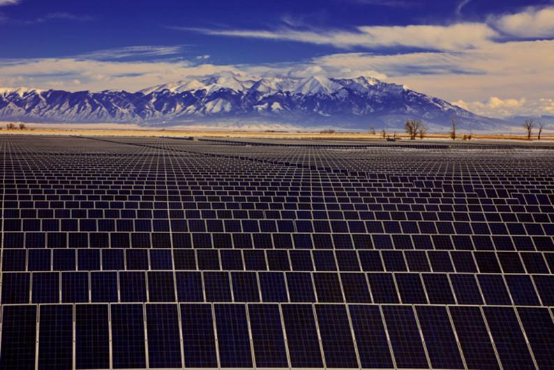 Solar array supplying Xcel (Denver Post file photo)
